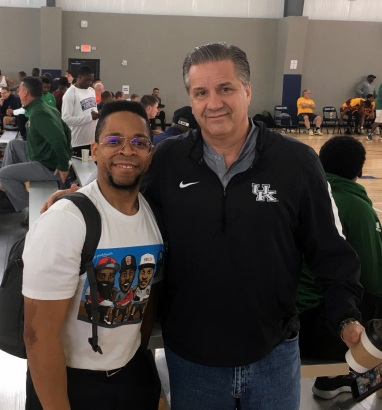 TBScouts with Coach John Calipari