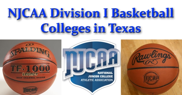 NJCAA Division I Colleges in Texas